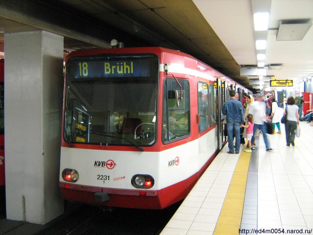 схема общественного транспорта кёльна
